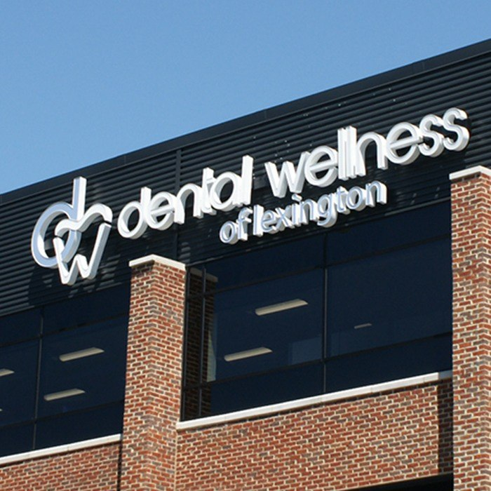 Outside view of Dental Wellness of Lexington